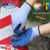 Nmsafety 10g Polycotton Shell Blue Latex Coaed Gloves