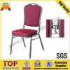 Hotel Meeting Room Steel Stacking Banquet Chair with Connecting Buckle