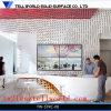Modern Designer Office Reception Counter Models Corian Luxury Reception Table