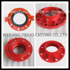 Grooved Pipe Fitting Flange Adaptor Class 150
