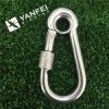 Stainless Steel Snap Hook with Eyelet and Nut