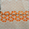 Wave Cotton Fabric, Geomtry Lace, Cotton Lace