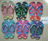 Lady Print Slippers Flip Flops Wiht Plenty Colour (AM812)