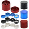4 Layers Alloy Metal Smoke Grinder Herb