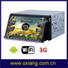 Android Universal 2 DIN7 Inch Car DVD Player with WiFi and GPS Navigation (OX-2612)