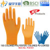 13G Colored Polyester Shell Colored PU Coated Gloves (PU5101) with CE, En388, En420, Work Gloves