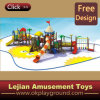SGS Super Quality Cheap Children Outdoor Plastic Playground (12081A)