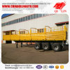 Three Axles Dry Bulk Cargo Stake Semi Trailer for Sale