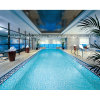 Swimming Pool Decorative Mosaic Art Design Glass Tile