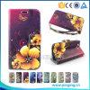 New Flower Pattern Leather Back Cover Flip Case for Avvio L600