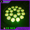 DMX 512 18PCS*15W RGBWA UV LED PAR Stage Light
