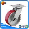6 Inch Heavy Duty Swivel Polyurethane Caster Wheel PU Wheel Caster