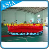 0.9mm PVC Tarpaulin Exciting Towable Inflatable Crazy UFO for Water Game