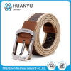Unisex Fashion Alloy Needle Woven Fabric Belt