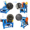 Rubber Tires Recycling Machine /Recycling Tire Scrap Rubber Powder Crusher Machine
