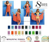 Fashion Microfiber Magic Design Beach Towel Wrap Dress