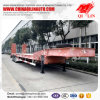 80ton Tri-Axle Low Loader for Excavator Loading