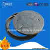 D400 Circular Composite Resin Rubber Manhole Covers with Frame