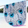 Wholesale 100% Cotton Round Circle Beach Towel with High Quality