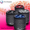 Hands Free Call Bluetooth Speaker Unique Music Tyre Shape New Speaker 2014 TF Card
