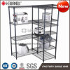 Professional Adjustable T Shaped Series 500lbs NSF Steel Warehouse Rack Shelving