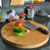 Round Bamboo Cutting Board Butcher Chopping Board