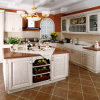 Kitchen Furniture Melamine Kitchen Cabinet with PVC Cabinet Door (zc-020)
