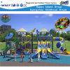 School Outdoor Playground Three Slide Kids Play Equipment HD-Kq50048A