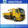 HOWO 6X4 10 Ton Hydraulic Telescopic Boom Truck Mounted Crane