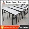 Folding White Melamine Table Steel Frame for Selll (JC-T86)