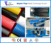 Plastic Extrusion Machine for PE PVC PA PP Flexible Conduits Corrugated Pipe