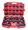 30 PCS Oil Filter Wrench Kit-Automotive Tools (MG50038)
