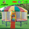 Outdoor Full Cover Kids Gymnastics Trampoline