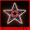 Flash Rope Holiday Decoration LED Motif Star Light
