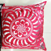 Metallic/Flock Printed Decorative Pillow Metallic Print Cushion (XPL-62)