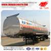 2017 New Steel Material Insulated Oil Tank Semi Trailer