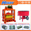 Qt4-40 Simple Block Machine Paver Machine Manual Solid Hollow Block Machine