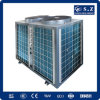 Big Building Central Heating by 60deg. C Dhw 19kw, 35kw, 70kw, 105kw Save70% Power Cop4.23 DC Inverter Air to Water Heat Pump Heater