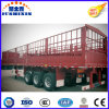3 Axles Dropside Stake Semi-Trailers/ Cargo Truck Trailers