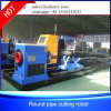 Profile Stainless Steel Pipe Bevel Cutting Machine with Plasma Gas Cutter Head