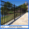 Powder Coated Flat Top Metal Pool Fence.