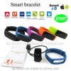 Bluetooth Smart Bracelet with Heart Rate Monitor (ID107)