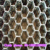 Hexagonal Shape Fireproof Material Refractory Perforated Hexnet 5*5cm