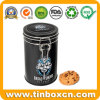 Food Storage Box Chocolate Chip Cookie Tins with Airtight Lid