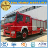 Sinotruk HOWO 4X2 Fire Engine Truck 10 Tons Fire Fighting Truck