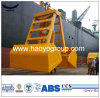 Widely Used Hydraulic Crane 6-12 Cbm Wireless Remote Control Clamshell Grab