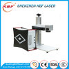 Black Frame Mini Fiber Laser Printer on Chair Logo