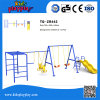 Outdoor Playground Amusement equipment Swing Set with Slide