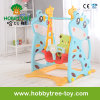 2017 Deer Style Indoor or Outdoor Plastic Baby Swing (HBS17008A)