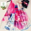Hot Sale Newest 200*140cm Chiffon Printed Shawl Fashion Lady Scarf